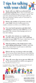7 tips for talking with your child stuttering foundation
