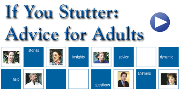 adult help self stuttering
