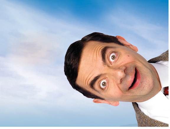 who knew mr bean stuttering foundation a nonprofit