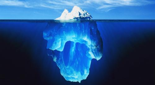 Dr Sheehans Stuttering Iceberg Analogy Stuttering Foundation A