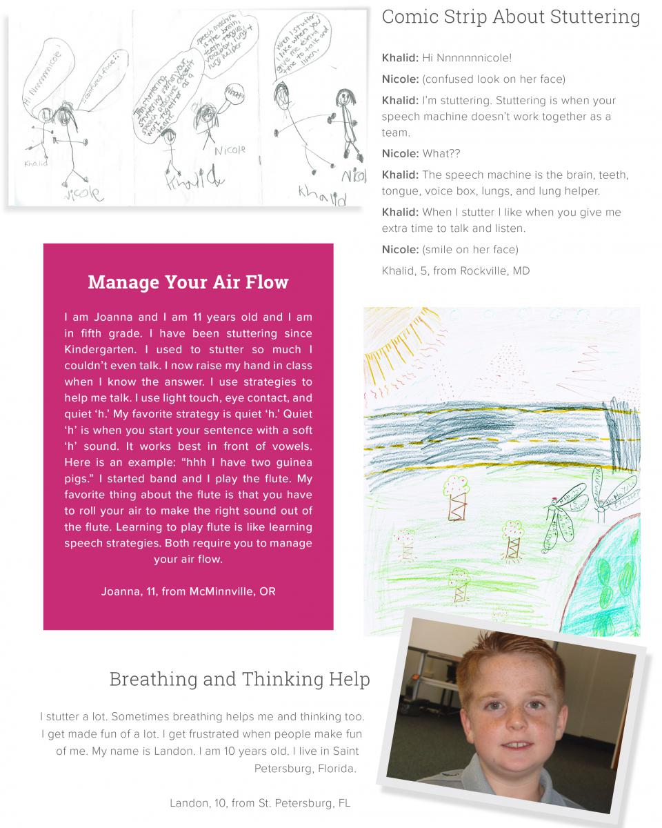 Drawings and Letters From Kids | Stuttering Foundation: A Nonprofit ...
